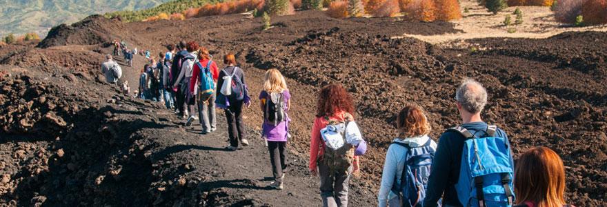 Randonnee Etna